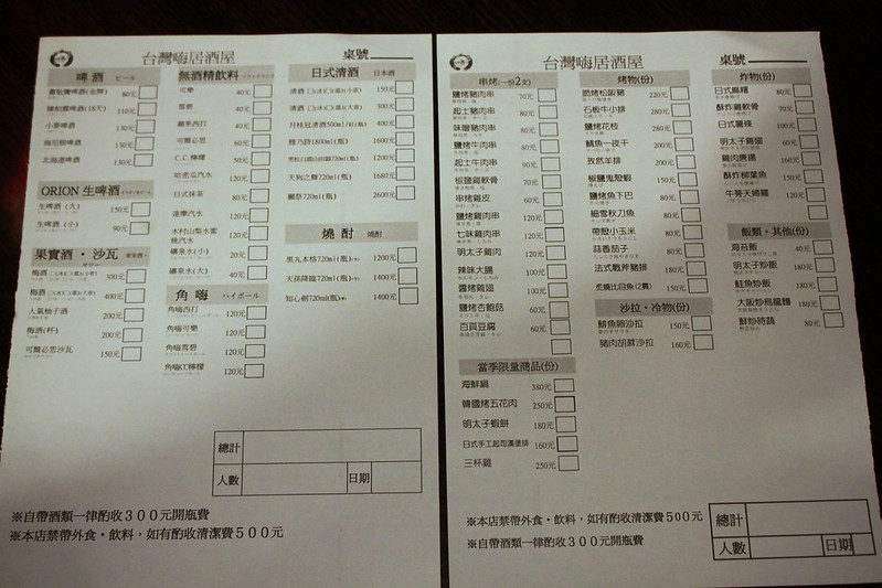 台灣嗨居酒屋-北投平價美食-17度c隨拍 (3)