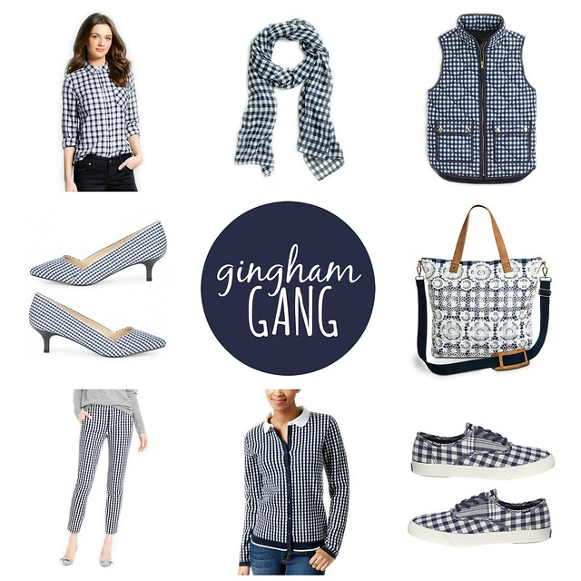 on trend gingham gang, spring 2016
