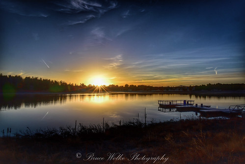 arizona lake nature water sunrise outdoors dawn nikon d750 boatdock showlow