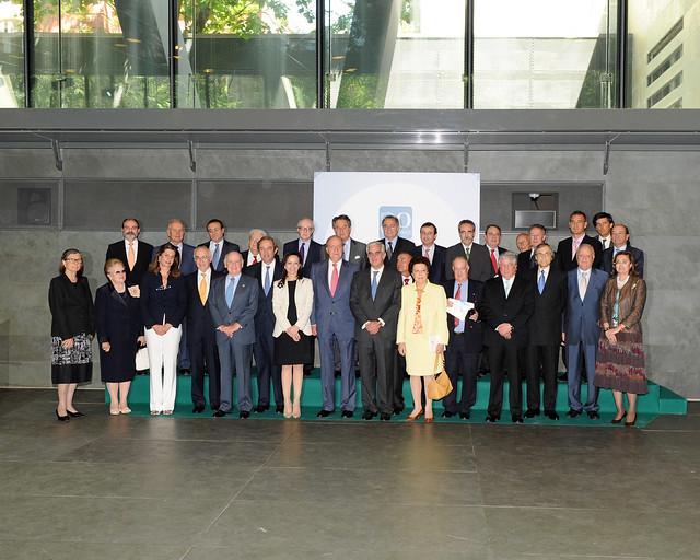 2009. I Edición Premios a la Excelencia SECOT-Fundación Repsol XX Aniversario de SECOT, Presidido por S.M. El Rey D. Juan Carlos
