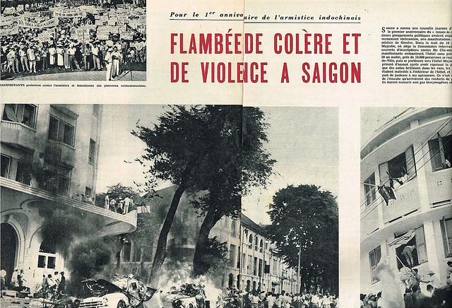 1955 Indochine - Violence à Saigon