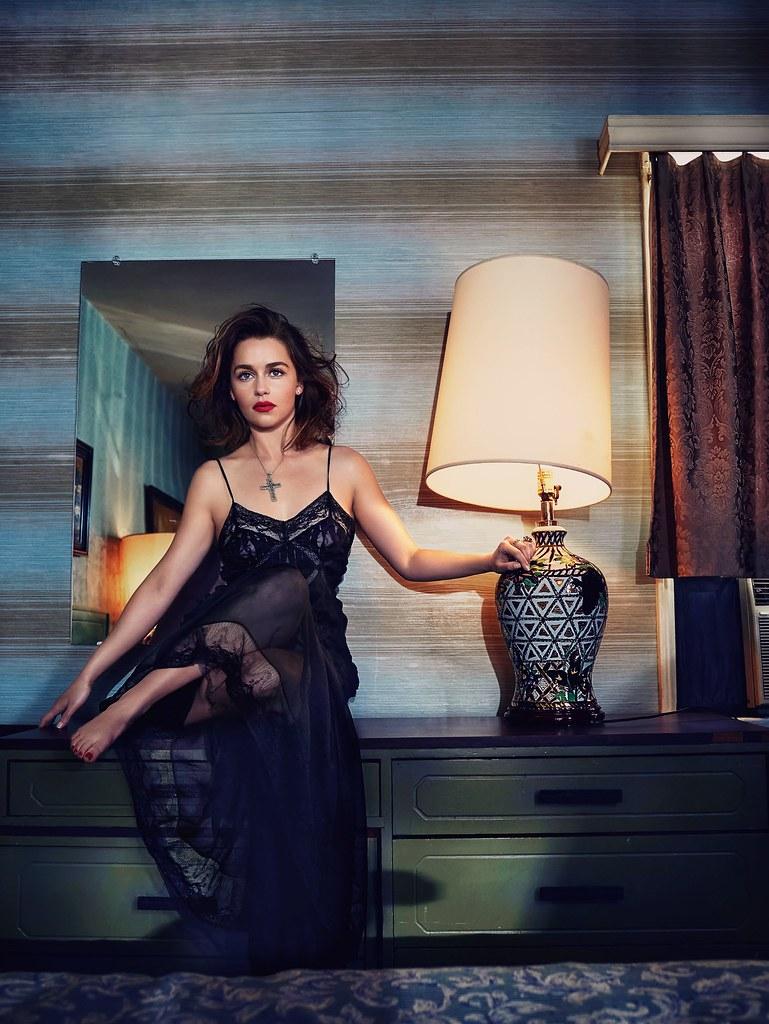 Эмилия Кларк — Фотосессия для «Vogue» AU 2016 – 6