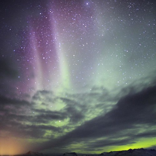 A touch of northern lights