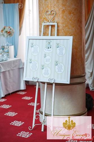 Unique Events: decorațiuni pentru nuntă > Foto din galeria `Petrecere în nuanțe de piersic și albastru`