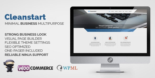 CLEANSTART v1.5.1 – Clean Multipurpose Business Theme