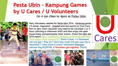 Kampung Games by U Cares and U Volunteers