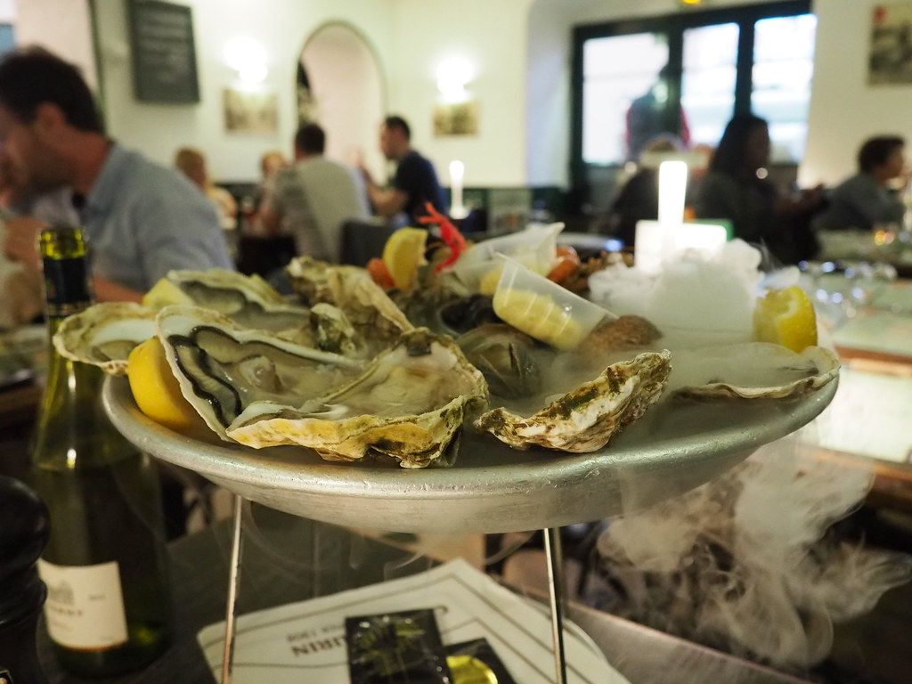 Oysters in Nice