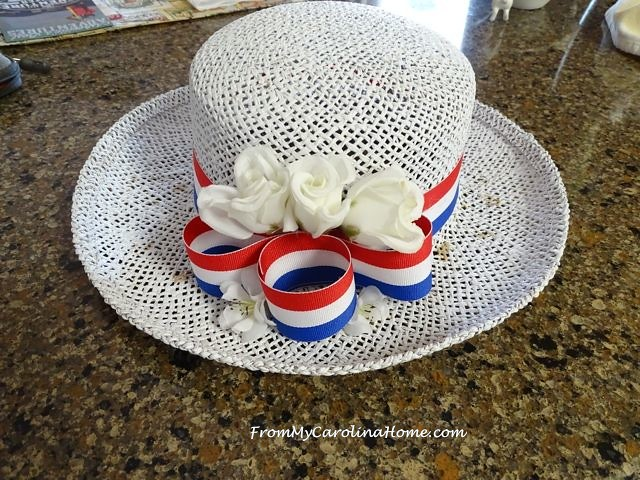Hat Makeover Project ~ From My Carolina Home