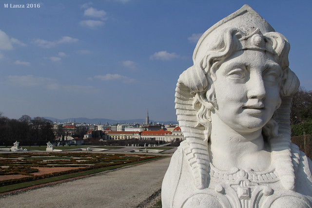 Vienna and Belvedere Palace