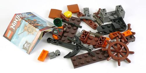 LEGO Ninjago 30421 Skybound Plane 03
