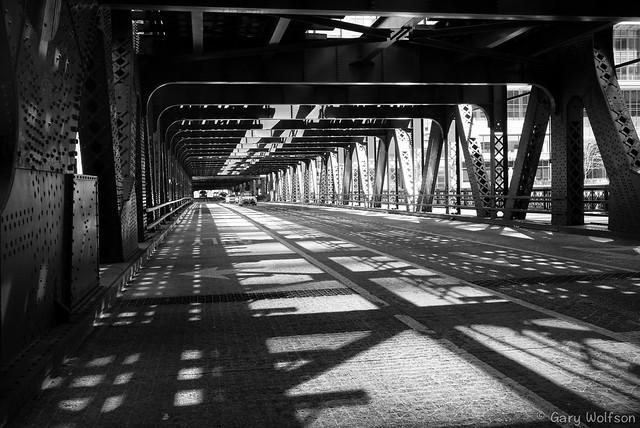 Chicago River Wells Street Bridge