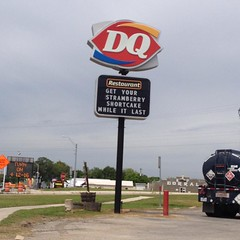 Yes really impressive the the DQ might run out of strawberry shortcake within view of the strawberry festival