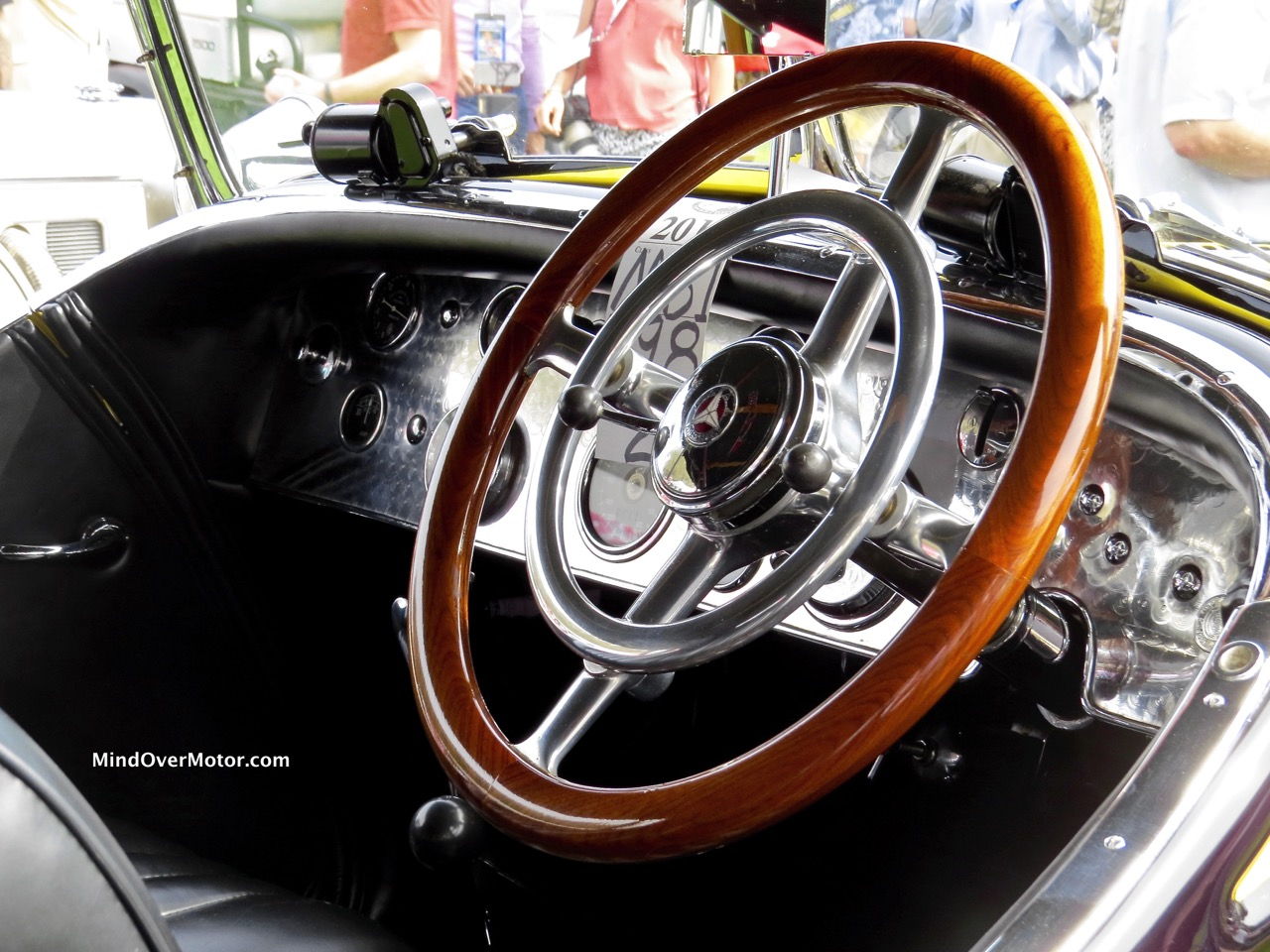 1928 Mercedes-Benz S Dashboard