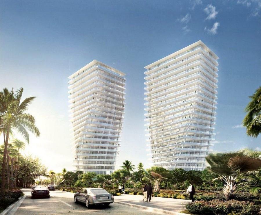 Башни-близнецы Twisted Towers в Майами