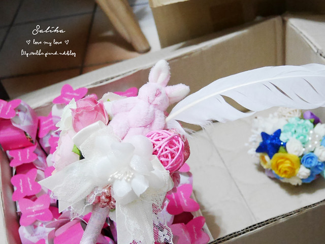 新娘可愛簽名筆DIY (2)