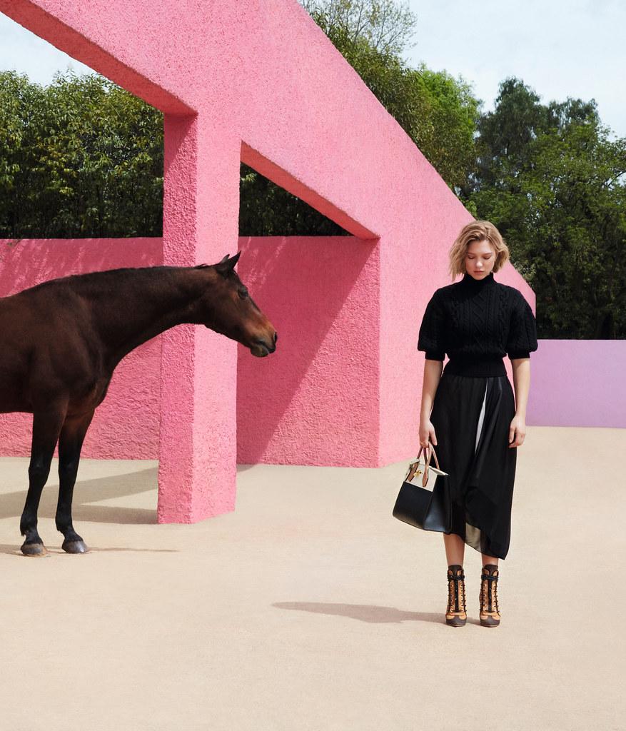 Леа Сейду — Фотосессия для «Louis Vuitton» ST 2016 – 3