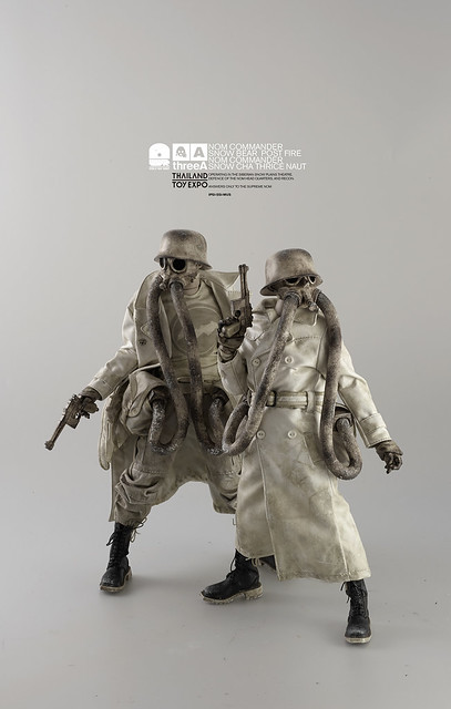 threeA【Snow Commanders Two Pack & Angel Cake Lonely TQ】泰國玩具展限定 1/6 比例人偶作品