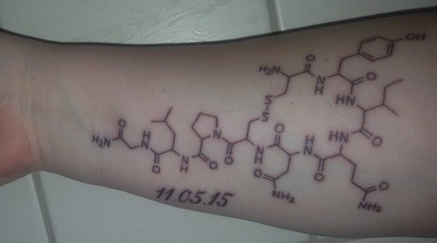 oxytocin tattoo
