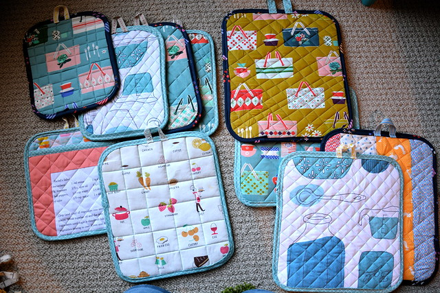 FOs: Christmas 2015 potholders