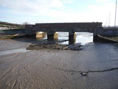 Flood Barrier, Benfleet Creek, Canvey Island
