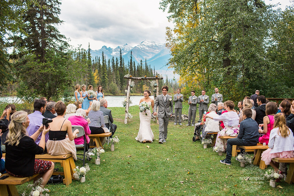 Tete Jaune Lodge Wedding Ceremony
