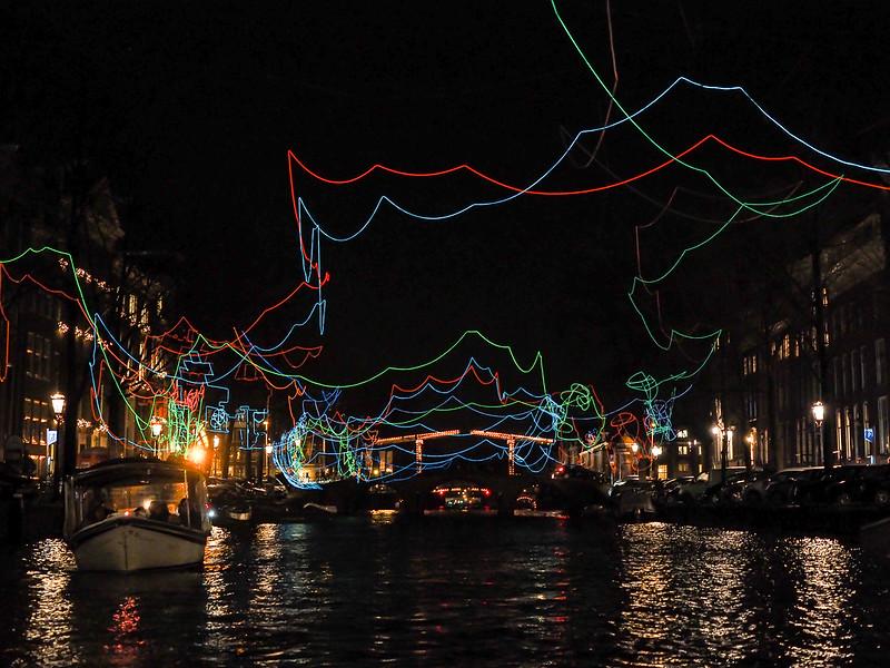 Amsterdam winter Light Festival
