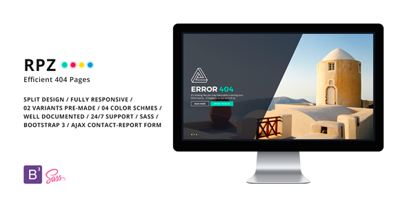 Themeforest RPZ - Efficient 404 Pages