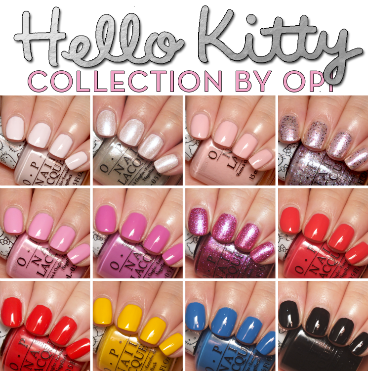 Hello Kitty collection by OPI (2)