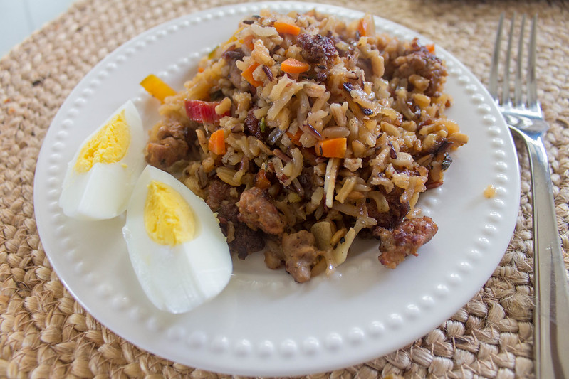01.03. Spice rice with vegetables