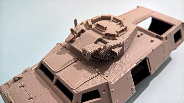 Bulgarian M1117, ISAF