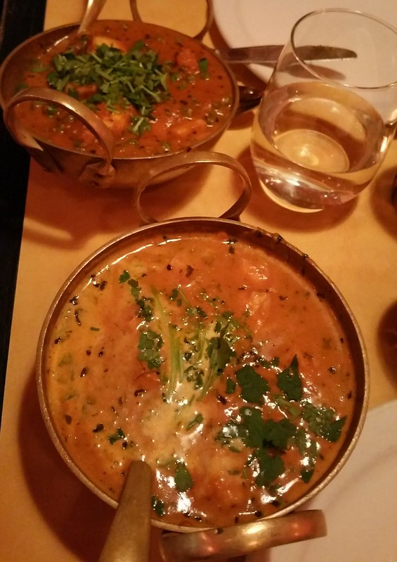 2016-Jan-29 Indian Fusion - two vegetarian curries