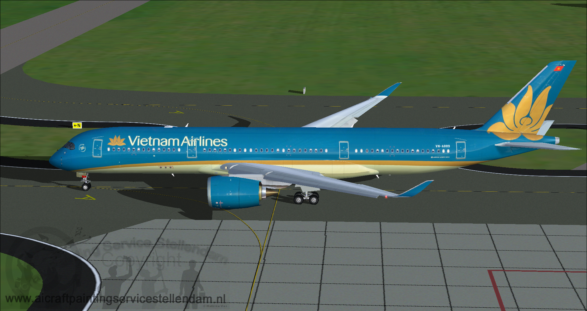 FSP_AirbusA350-941XWB_VietnamAirlines_VN-A889_fs9