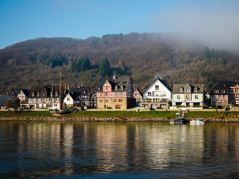 Sailing the Upper Middle Rhine