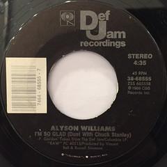 ALYSON WILLIAMS:SLEEP TALK(LABEL SIDE-B)