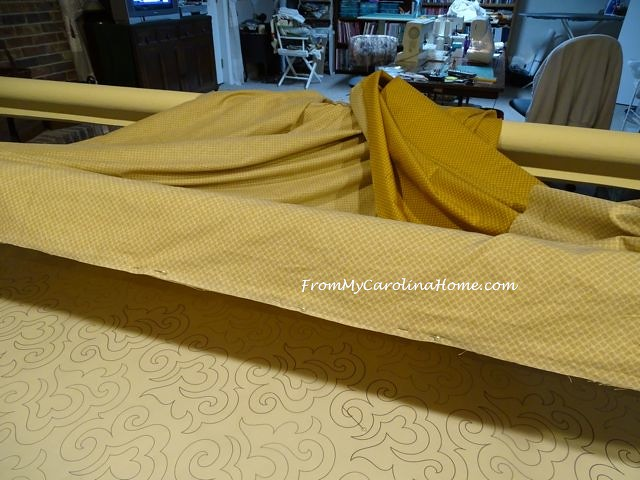 Loading the Longarm | From My Carolina Home