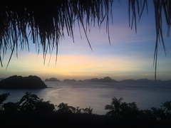 Purple skies. #elnido #palawan #philippines