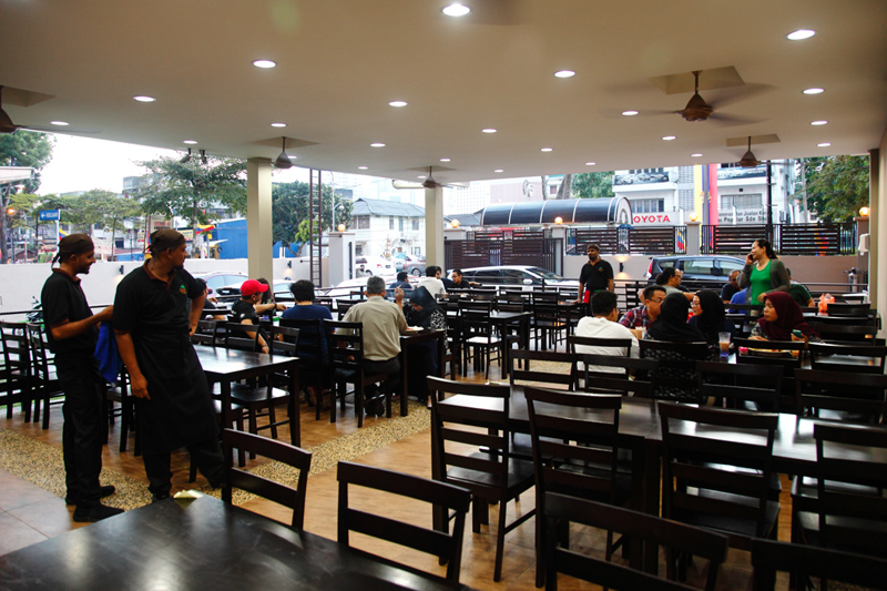 Line Clear Kampung Baru Dining Area