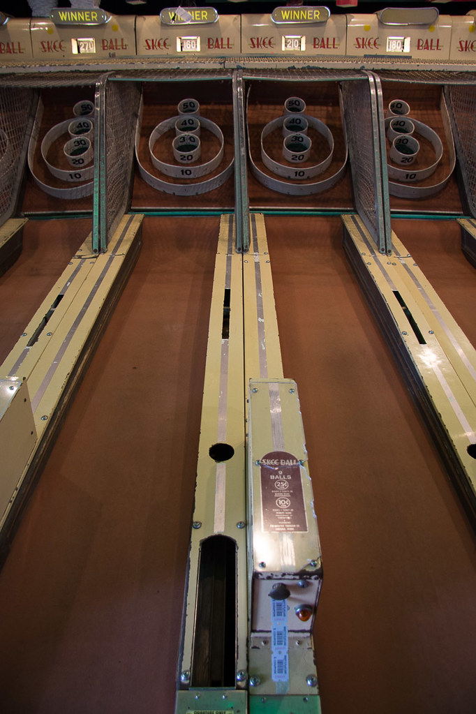 Skeeball in Ocean City