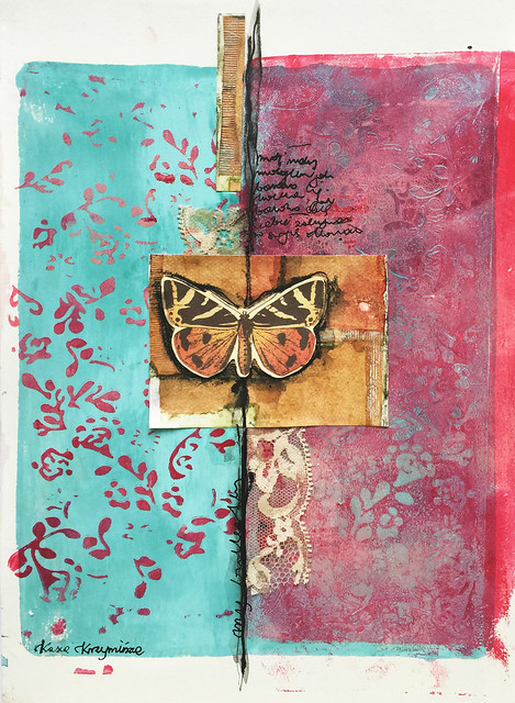 My butterfly - art journal page