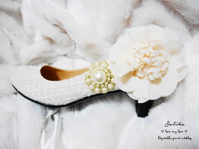 結婚新娘婚禮婚鞋diy (8)