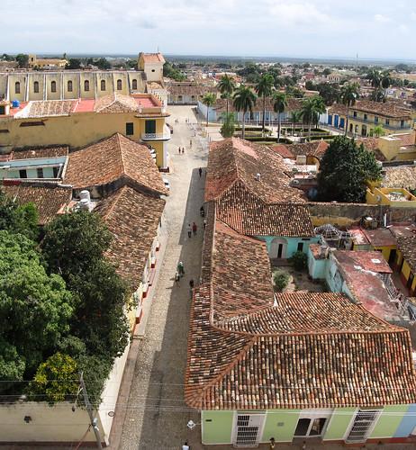 Trinidad: vue de la Tour de la Lutte contre les Bandits