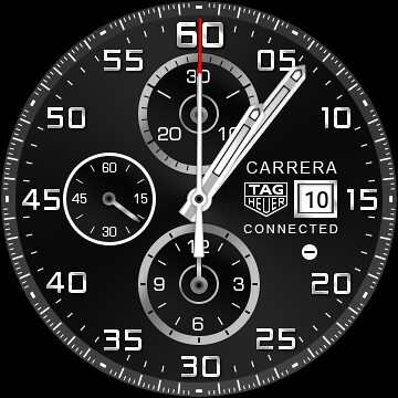 TAG Heuer Connected Watch Face - Android Wear 1.4