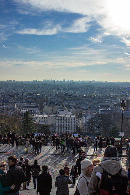View over Paris from Sacre-Coeur