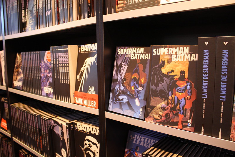 Comics Superman Batman - Livre Paris 2016