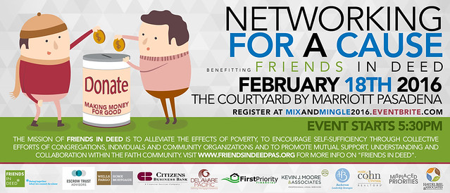 Networking for a Cause 2/18/2016