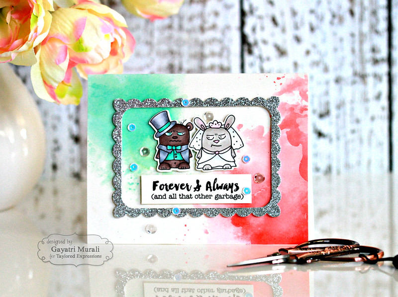 Forever & Always card #1