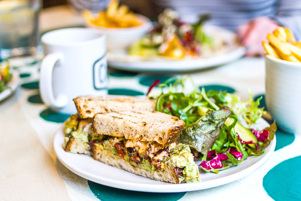 Common northern quarter restaurant sandwich cool places in manchester
