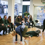 SPINE Festival Artist in Residence dance workshops with Annarita Mazzilli in Leytonstone Central Library