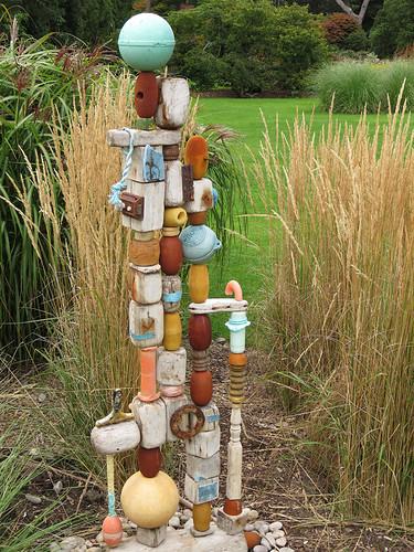 Dublin Botanical Garden Sculpture of Flotsom