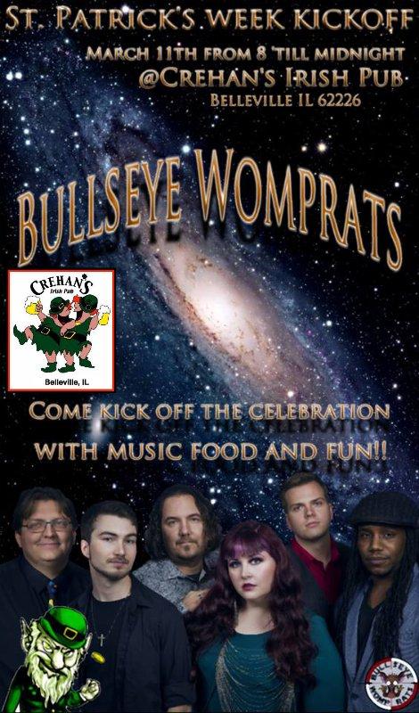 Bullseye Womprats 3-11-16